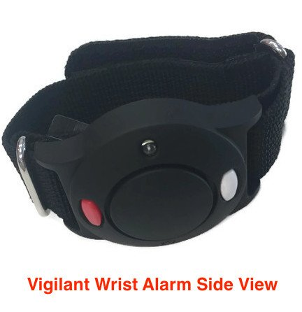 Vigilant PPS-35BRS 125dB Wrist Personal Alarm with Sweat Proof Wrist Band by Vigilant Personal Protection Systems (Image #2)