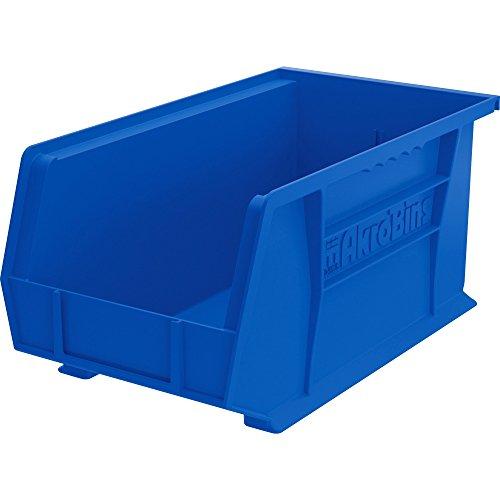 Akro-Mils 30240B Bins, Unbreakable/Waterproof, 8-1/4