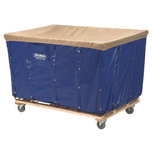 Vinyl Basket Bulk Truck, 20 Bushel, Blue