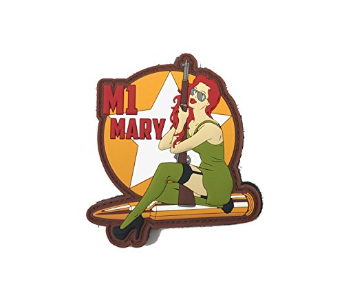 Patriot Patch Co - WWII Pinup Girls - Morale Patch (M1 (Wwii Pinups)