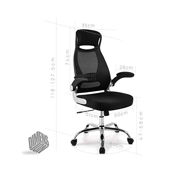 IntimaTe WM Heart Chaise de Bureau Ergonomique, Fauteuil de Bureau Pivotante à Dossier Haut, Fauteuil de Direction Siège…