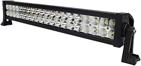 2pcs 120W Auto LED Light Bar,ALPHA DIMA Offroad Zusatz Scheinwerfer Gef/ührtes Arbeits-Licht-Bar Wasserdicht IP67 Lightbar Scheinwerfer f/ür Offroad Traktor SUV UTV ATV