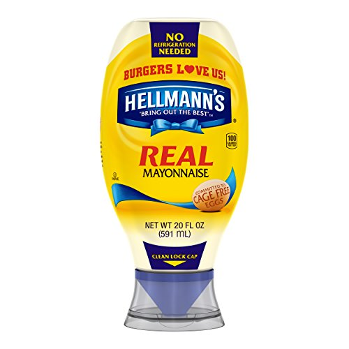 Hellmann's Real Mayonnaise, Squeeze Bottle, 20 Fl Oz by Hellmann's