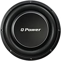 Q Power Deluxe 10 Inch Shallow Mount 1000 Watt Flat Car Subwoofer | QPF10-FLAT