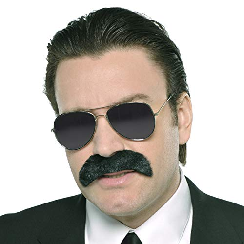 Amscan Good Fella Moustache - Wacky Facial Hair Costume Accessory | 6 Ct.]()