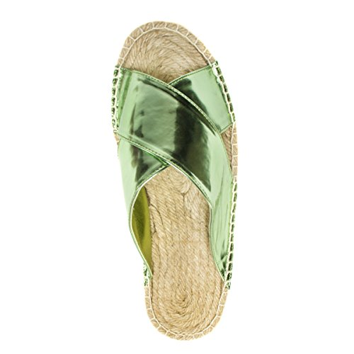 Mukluks Women's Misty Flat Sandal Mint GDcsyIb0