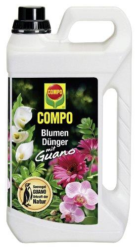 Compo 1204602 Blumendünger mit Guano 5 Liter