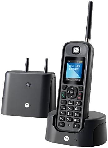 Motorola MOTOO201NO, Teléfono Fijo, DECT, 0, Talla única, Negro: Motorola: Amazon.es: Electrónica