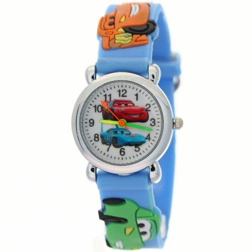 Timernall Original Cartoon kids watch carss White Dial Blue Kids Watches