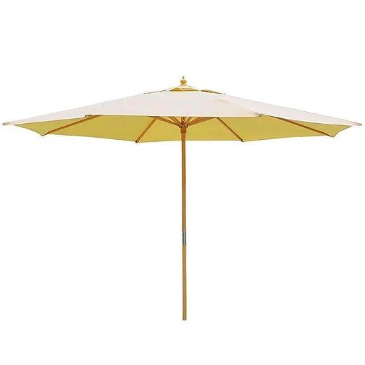 13 pies madera amarillo caqui toldo Patio 13 paraguas al aire ...