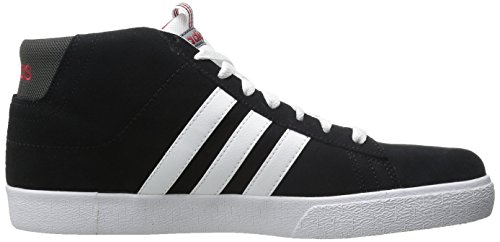 Adidas Neo Heren Daily St Mid Schoenen Zwart / Wit / Power Rood