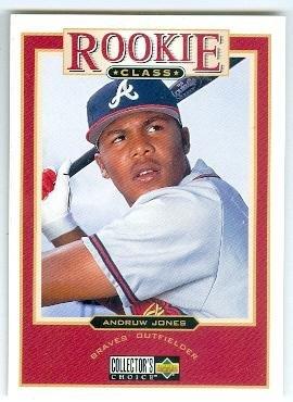 Andruw Jones Baseball Card Atlanta Braves 1997 Upper Deck 1