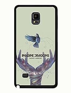 Imagine Dragons Design Artistic Theme Music Band Samsung Galaxy Note 4 Hard Plastic Case yiuning's case wangjiang maoyi