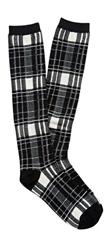 Hot Maurices Women's Buffalo Plaid Knee High Socks for cheap