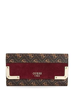 GUESS Tepper Logo Multi Clutch Wallet
