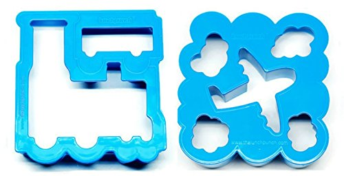 Lunch Punch Sandwich Cutter, Transit (2-pack) ()