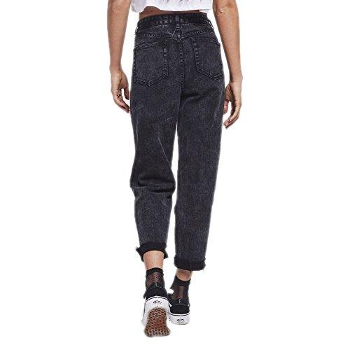 Small Wash Noir R Pantalon I Taille Acid Mom Fit 8 C P X Jeans Siksilk XS SSwnqzvZ
