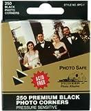 Bulk Buy: Pioneer Premium Photo Corners Self Adhesive 250/Pkg Black BPC1 (4-Pack)