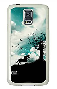 Make Wish White Hard Case Cover Skin For Samsung Galaxy S5 I9600