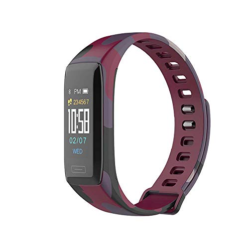 XUENUOS V7 Plus Fitness Tracker Smart Bracelet Sport Watch with Real Time Heart Rate Monitor Activity Tracker Pedometer Sleep Monitor Call and SMS Reminder Calorie Burned Counter for iOS Android