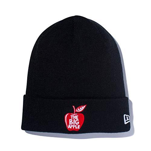 (ニューエラ) NEW ERA ニット帽 カフ THE BIG APPLE ブラック FREE
