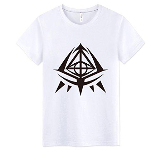 Bromeo Hidan no Aria Anime Ropa Mangas Cortas Tee T-shirt Camisetas 2183