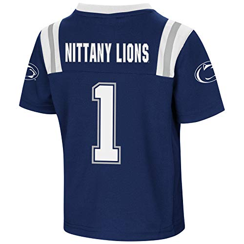 Colosseum NCAA Action Pass-#1 Football Jersey-Penn State Nittany Lions-5T