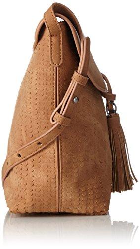 Marco Tozzi 61009 - Shoppers y bolsos de hombro Mujer Marrón (Muscat)