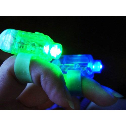 SODIAL(TM) Laser Finger Beams - 48 ct. box Bright LED finger lights