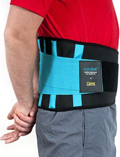 Clever Yellow Back Support Belt, Lower Back Brace – the Only Certified Medical-Grade Belt for Pain Relief and