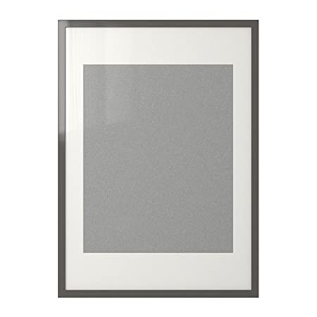 IKEA RIBBA Frame High Gloss Grey 50x70 Cm Amazoncouk Kitchen Home