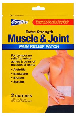 Extra Strength Muscle & Joint Pain Relief Patch, 2 Ct (1)