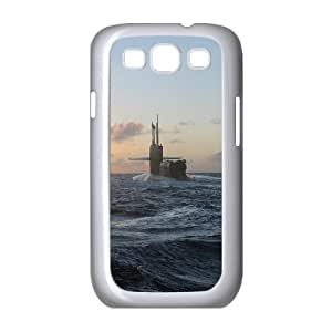 Samsung Galaxy S 3 Case, us military submarine Case for Samsung Galaxy S 3 White