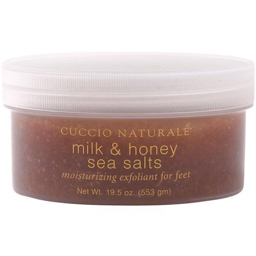 (Cuccio Sea Salt for Feet, Milk and Honey, 19.5 Ounce)