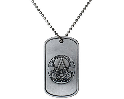 Assassin's Creed Recon Military Necklace Official Ubisoft Collection by Ubi Workshop (Recon Assassin)