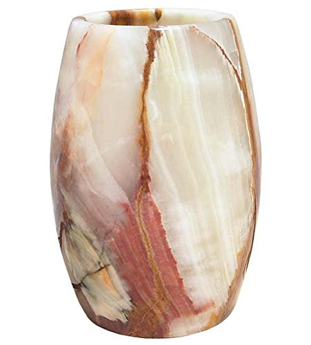 Translucent Onyx Table Lamp 9'' H 'Glowing Onyx Lamp' by Ten Thousand Villages (Image #1)