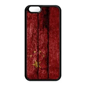 ZXSPACE Chinese Flag Pattern Design Plastic Hard Case for iPhone 6