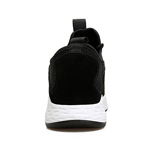 Mode argent noir 39 44 Sneakers Chaussure Basket Sport Casuel Pour Running LFEU Jogging Homme Paillette Antichoc de Endurance p4P6TCq