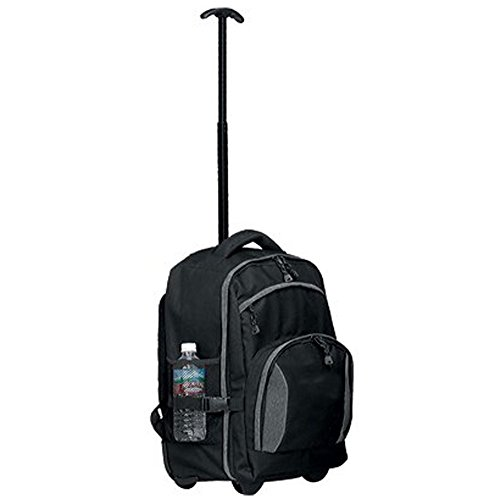 19' Wheeled Backpack (Tundra Rolling Backpack Color: Black)