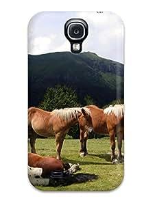 Galaxy S4 Case Cover Skin : Premium High Quality Sleeping Horse Case