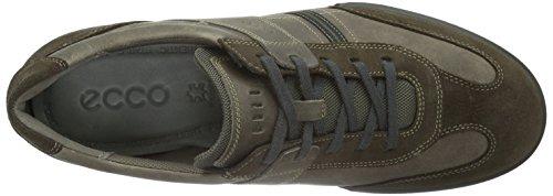 ECCO Fraser, Sneaker Basse Uomo Marrone(dark Clay/Stone 56818)
