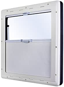 Dometic Seitz S4 - Ventana abatible (50 x 30 cm), color blanco