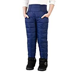 UGREVZ Girls Boys Snow Pants 2-10 Years ...
