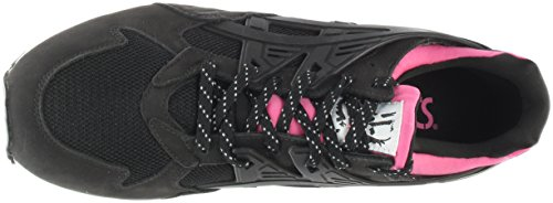 Asics Mens Gel-kayano Trainer Sneaker Retrò Nera