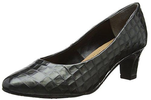 Prt Taille Watt Dal Storm Noir Croc Fermé Van Patent 640 Bout Unique Gris Femme Escarpins gOB50w