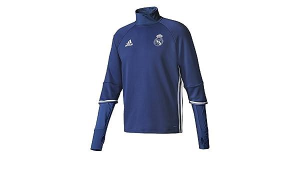 adidas TRG Top Sudadera Real Madrid FC, Hombre: Amazon.es: Deportes y aire libre
