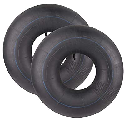 LotFancy 2 Packs, 20x8.00-8, 20x8-8, 20x10.00-8, 20x10-8 Inner Tube for Riding Mower, Lawn Tractor, Golf Cart, Garden Trailer, with TR13 Straight Valve Stem
