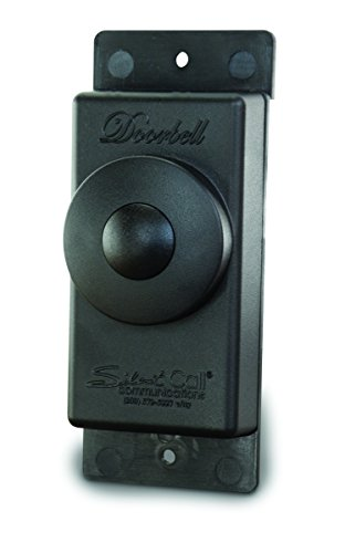 Silent Call Communications Legacy Series Doorbell 318 MHz Transmitter-Wireless (DB1003-4) by Silent Call Communications