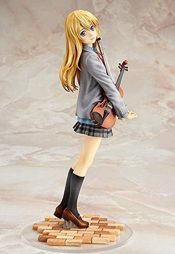 Anime Your Lie in April Shigatsu wa Kimi no Uso Miyazono Kaori PVC Figure No Box