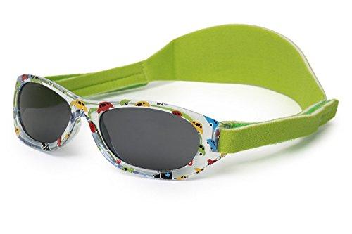 Sonnenbrille Baby | für Jungen und Mädchen | ab 2 Monaten | MIT WEICHEM VERSTELLBAREM NEOPRENBAND | 100% UVA- und UVB-Schutz | sicher, bequem und widerstandsfähig | ideales Geschenk | Kiddus Baby